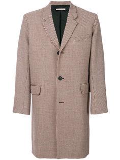 твидовое пальто в клетку Paul & Joe