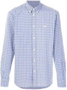 классическая рубашка в клетку Maison Kitsuné
