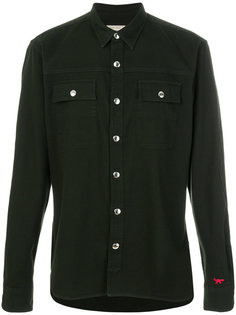 рубашка в стиле милитари Maison Kitsuné