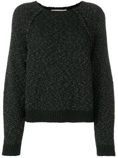 трикотажный свитер с блестками Vanessa Bruno