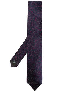 галстук с узором в горох Caruso