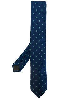 галстук с мелким узором Caruso