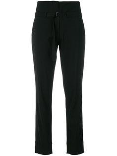 брюки с завышенной талией с поясом Isabel Benenato