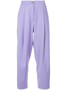 широкие укороченные брюки Natasha Zinko