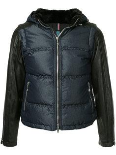 куртка с контрастными рукавами и капюшоном  Guild Prime