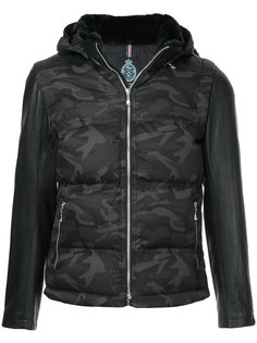 стеганая куртка с контрастными рукавами Guild Prime