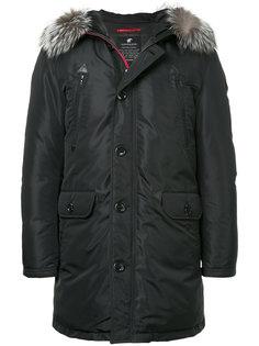 стеганая куртка с меховой оторочкой Loveless