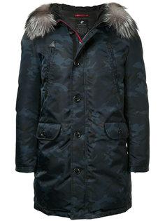 куртка с камуфляжным воротником  Loveless