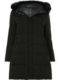 куртка-пуховик с капюшоном и искусственным мехом Guild Prime