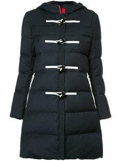 """дутое пальто с капюшоном с застежкой на пуговицы """"моржовый клык"""" Loveless"""