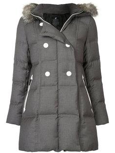 дутая куртка с капюшоном с оторочкой из искусственного меха Loveless