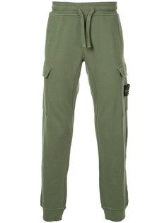 спортивные брюки с карманами карго Stone Island