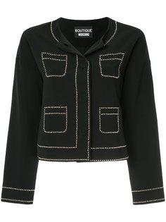 пиджак с заклепками Boutique Moschino
