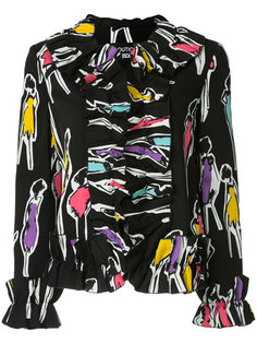 куртка с оборками Boutique Moschino