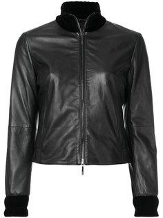 куртка на молнии с высокой горловиной Armani Jeans