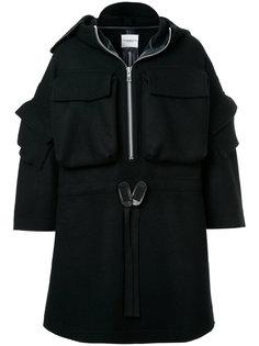 удлиненное декорированное пальто  Takahiromiyashita The Soloist