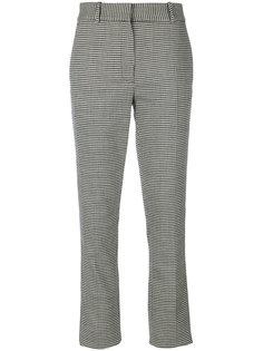 брюки строгого кроя в ломаную клетку Victoria Beckham