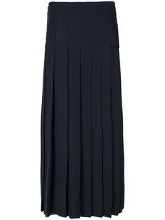 плиссированная юбка Victoria Beckham
