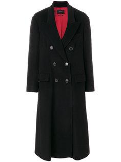 длинное двубортное пальто Isabel Marant