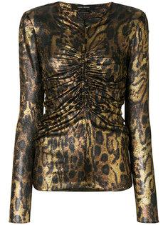 блузка с леопардовым узором Isabel Marant
