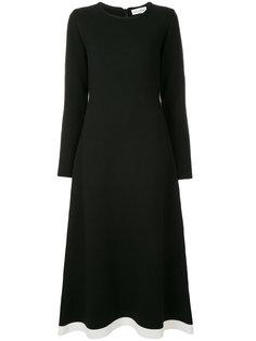 платье с контрастным подолом Sonia Rykiel