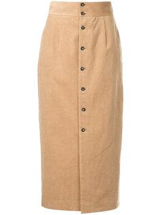 вельветовая юбка с высокой талией Cityshop