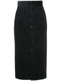 вельветовая юбка с завышенной талией Cityshop