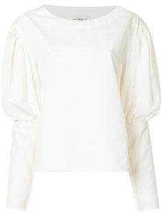 футболка с пышными рукавами Coralie Marabelle
