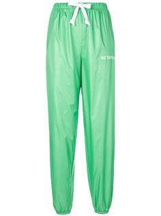 атласные спортивные брюки  Natasha Zinko