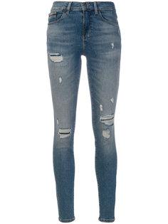джинсы скинни с рваными деталями Calvin Klein Jeans