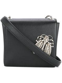сумка через плечо с декорированным жуком Rochas