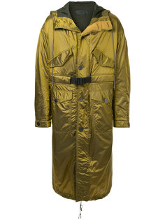 удлиненное пальто мешковатого кроя Haider Ackermann