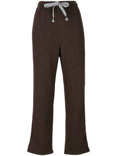 укороченные спортивные брюки Julien David