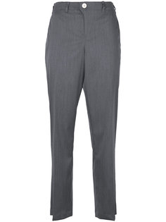 укороченные брюки с завышенной талией Julien David