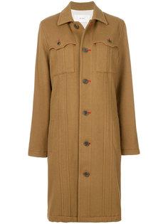 пальто с карманами  Julien David