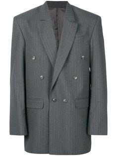 полосатый классический пиджак  Martine Rose