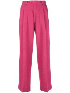 классические плиссированные брюки Eckhaus Latta
