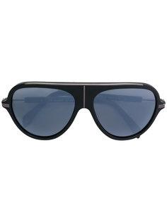 солнцезащитные очки в объемной оправе Balmain