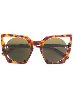 """солнцезащитные очки в оправе """"кошачий глаз"""" MCM"""