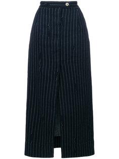 юбка миди в полоску Vivienne Westwood