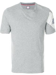 футболка дизайна колор-блок Moncler Gamme Bleu
