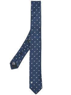 галстук с мелким принтом Neil Barrett