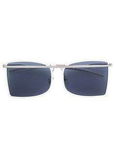 солнцезащитные очки с деталью металлик Calvin Klein