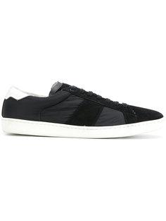 кроссовки на шнуровке Saint Laurent