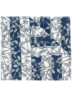 платок с принтом Julien David