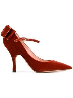 туфли-лодочки с бантом Rochas