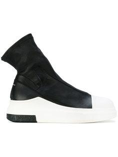 кроссовки с носочной вставкой Cinzia Araia
