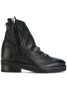 ботинки на молнии со сборками Cinzia Araia