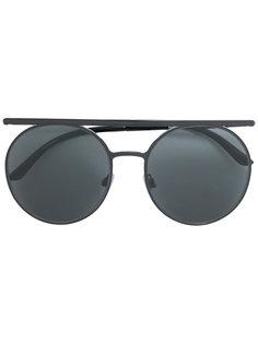 солнцезащитные очки Runway в круглой оправе Giorgio Armani