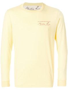 свитер с круглым вырезом Martine Rose